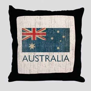VintageAustralia Throw Pillow